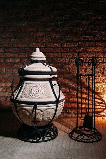 """Тандыр """"Аладдин мини""""Изготовлен из шамотной глины.Толщина стенки"""