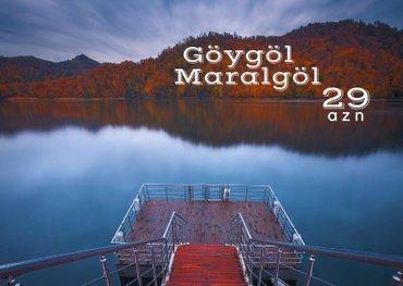 Bakı şəhərində Gence- Göygöl - Maralgol turu