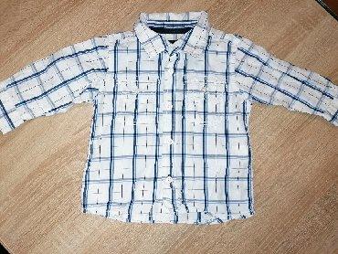 Amisu karirane bermude - Srbija: Karirana košulja za dečake,HM, broj 74, 300 dinara