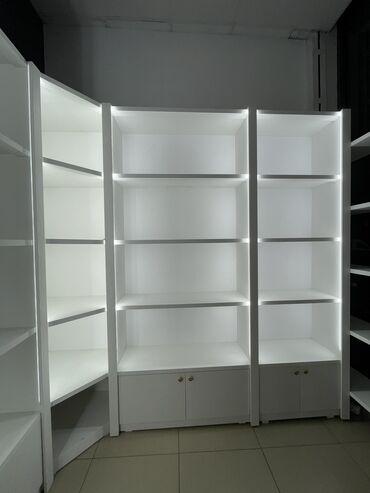 бу стеллажи в бишкеке в Кыргызстан: Продаю шкафов для магазина с подсветками. Состояние как новое. Пользов