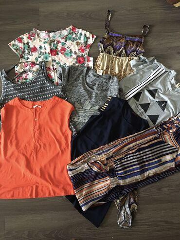 женские цветочные кеды в Азербайджан: Большой пакет женской одежды цена за все сразуразмер 44-46все в