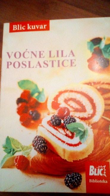 Kuvar vocne lila poslastice - Belgrade