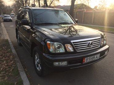 Lexus lx-470. 2006 г. Vvti. Серый кож салон 3 ряда. Хор сост. в Бишкек