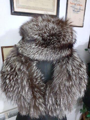 Krzneni kaputi - Sremska Mitrovica: Komplet srebrna lisica