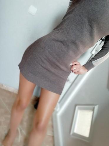 Jesenja haljina h&m, nova, rastegljiva - Jagodina