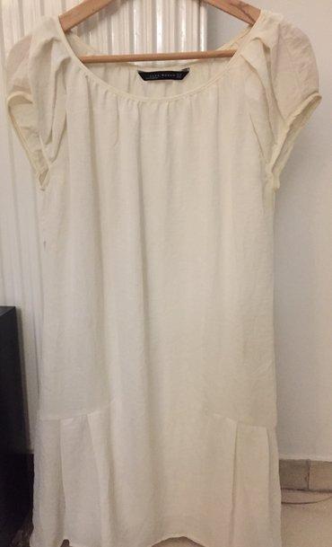Μεταξωτό λευκό φόρεμα με εσωτερικό σε Rest of Attica