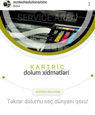 Texnikanın təmiri - Azərbaycan: Təmir | Printerlər, ofis texnikası | Zəmanətlə, Evə gəlməklə, Pulsuz diaqnostika