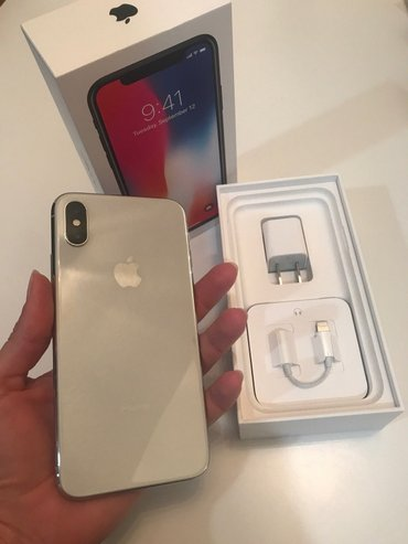 Apple iPhone X 64GB/256GB - Space Grey/ Silver/Black (Unlocked) Still in Kathmandu