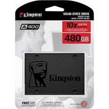"""Sərt disklər və səyyar vincesterlər - Azərbaycan: SSD """"Kingston A400"""", 480GBƏlaqə:wp+zəngÖdəniş: nağd və ya"""