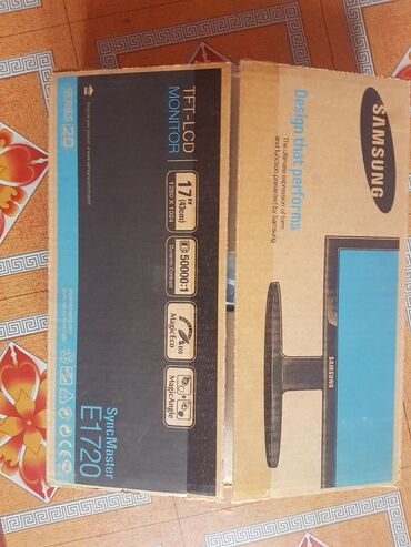 бу монитор samsung в Кыргызстан: Новый монитор Samsung SyncMaster E1720