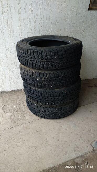 шины бур16 в Кыргызстан: Продаю шины 205/60 R16 Federal Gimalaya зимние проездил месяц всего и