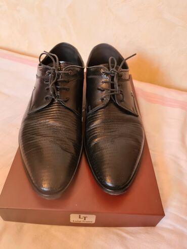 Мужская обувь Италия Почти новые мужские туфлиLuigi TrainiПроизводство