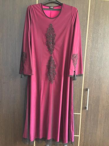 Очень красивое платье. Производство Турция. Размер 52. 3000с  в Бишкек
