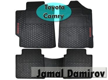 Bakı şəhərində Toyota Camry üçün silikon ayaqaltilar.