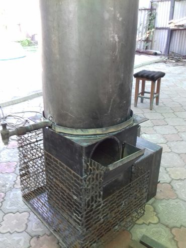 Угольные, банные котлы. Установка, гарантия в Бишкек