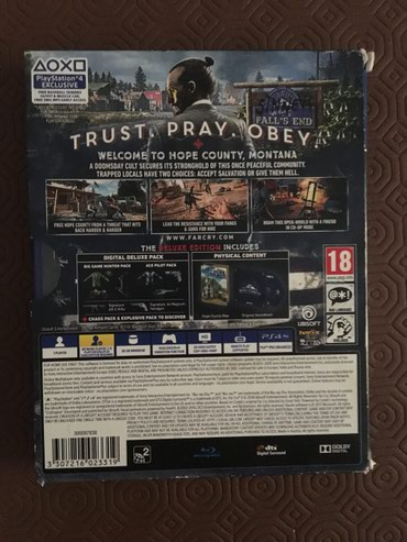 Far Cry 5 για ps4 Deluxe Edition σε Αθήνα - εικόνες 2