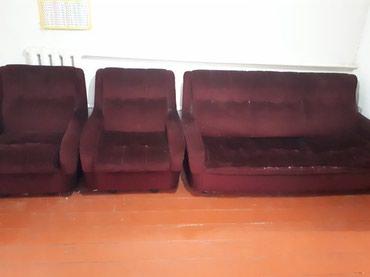 Продаю б/У диван с креслами. в Бишкек
