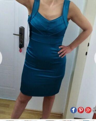Potpuno nova haljina, sa etiketom, vel L, od kvalitetnog satena sa