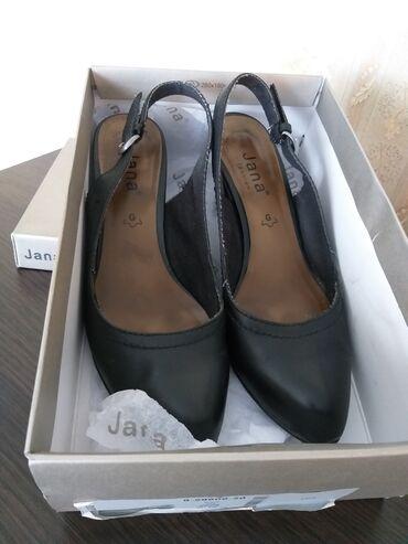 """Туфли кожаные """"Jana"""". Размер 38. Б/у. В отличном состоянии! Цена: 1000"""