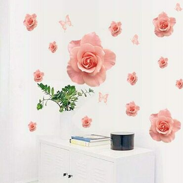Veliki stiker sa 13 pupoljaka ruze (najveci pupoljak 50 x 46cm) i 4