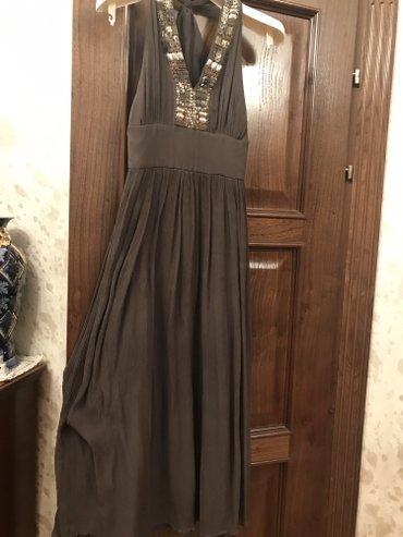 Шикарное дизайнерское платье Италия! Размер С/М брали дорогооо! Отдаю  в Лебединовка