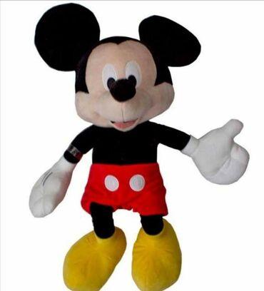 Plišana igračka Miki Maus 2400 dinZabavite se uz vašeg plišanog