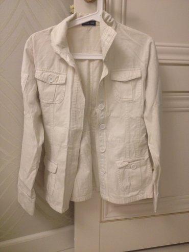 джинсовый пиджак в Кыргызстан: Продаю женский джинсовый пиджак. Б/у В отличном состоянии. Размер