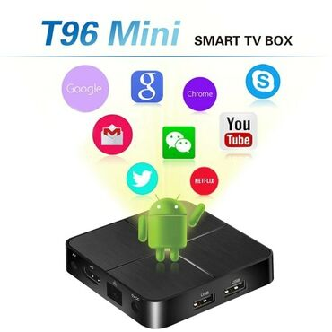 android tv в Азербайджан: Orginal smart tv box androidlert96 mini smart tv box android 2/16gb