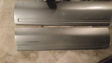 Продаю задний бампер и молнинги и пороги на субару форестер 97 98 год в Балыкчи