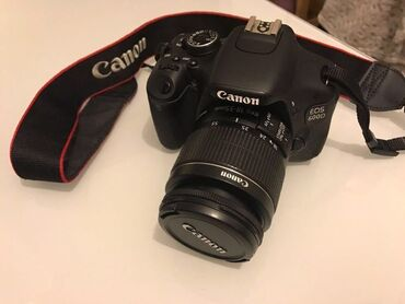 Canon 600D satilir. alan gunnen 1 2 defe shekil cekilib. karpokasinnan