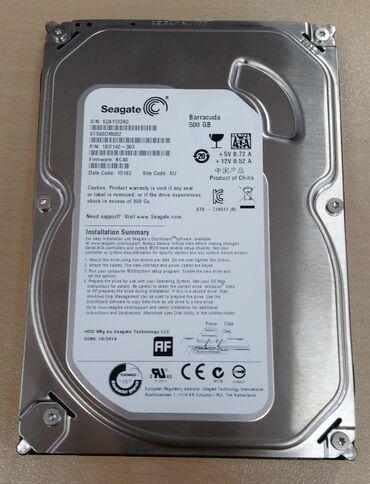 Жесткие диски, переносные винчестеры - Кыргызстан: Новые восстановленные(рефка) жесткие диски.Segate 500 gb 1500