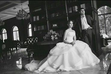 platja dlja 9 10 let в Кыргызстан: Свадебное платье, цвет айвори, шлейф незаметно подстегивается, всего 9