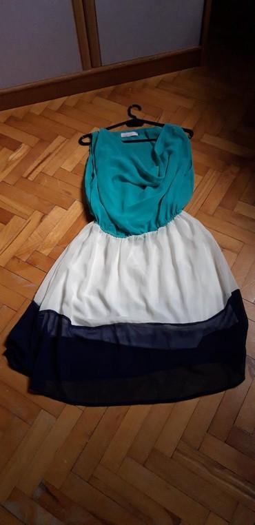 Fenomenalna haljinica,tri boje,sa postavom. Stanje: Kao nova. Vel. - Bor