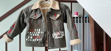 Dečije jakne i kaputi | Vrbas: Jakna za decaka, kao nova, dzepovi su imitacija, postavljena, ima i