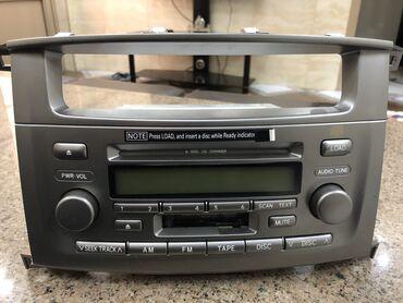Оригинал заводской аудио плеер от Land Cruiser 100