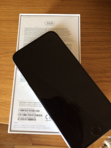 Apple Iphone | Beograd: IPhone 6 64GB u silver boji, očuvan potrebna zamena baterije