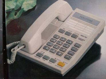 Телефоны из китая - Кыргызстан: Телефон Panaphone стационарный, новый, в упаковке, с функцией громкой