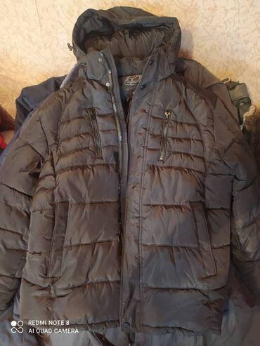 Личные вещи - Ак-Джол: Продаю пуховик мужской, черный, абсолютно новый, размер 54-56.Продам