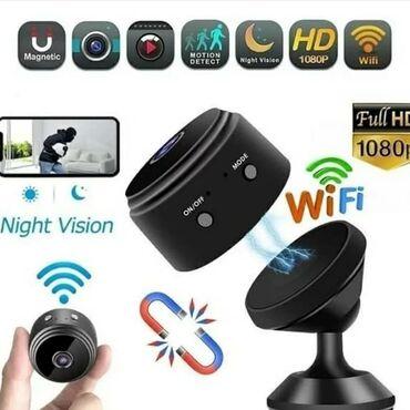 Очень миниатюрная WiFi мини камера размером меньше спичечного коробка