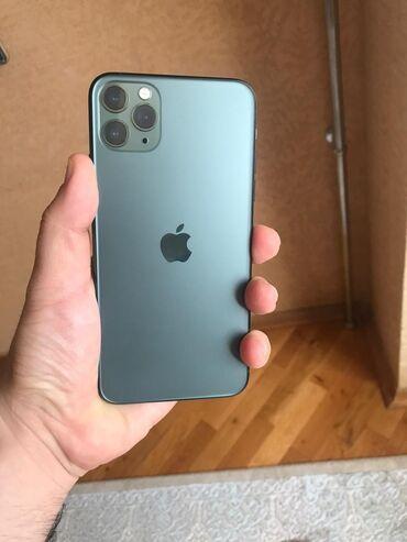 Telefon ucun viniller - Azərbaycan: İşlənmiş IPhone 11 Pro Max 64 GB Yaşıl