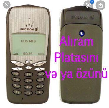 Sony Ericsson Azərbaycanda: Ericsson T66 alıram. Platası və ya özünü. Əgər telefon xarabdırsa amma