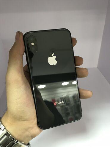 Apple Iphone - Кыргызстан: Б/У iPhone X 256 ГБ Черный