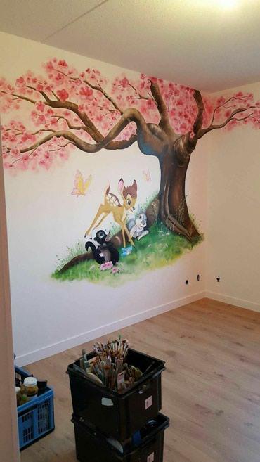 Роспись стен ! художник !Мы предлагаем в Бишкек