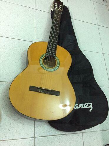 "Original klassik gitara ""İbanez ga3njp-am-2y-02"". Çox az istifade"
