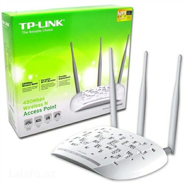 AP/Repeater/Router tp-link tl-wa901nd в Bakı