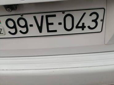 avtomobil satılır in Azərbaycan   MERCEDES-BENZ: Avtomobil nömrəsi satılır.əla vəziyyətdə