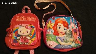 рюкзаки для девочек в Кыргызстан: Сумка, рюкзак для девочек, б/у.Сумка 100 сом, рюкзак 50 сом