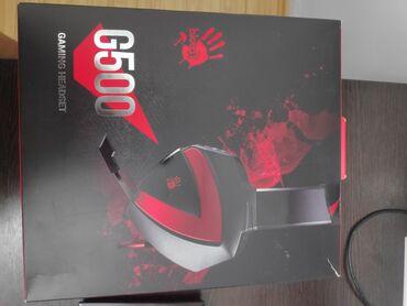 наушники хуавей проводные в Кыргызстан: Наушники Bloody G500 игровые состояние отличное пользовались мало Цена