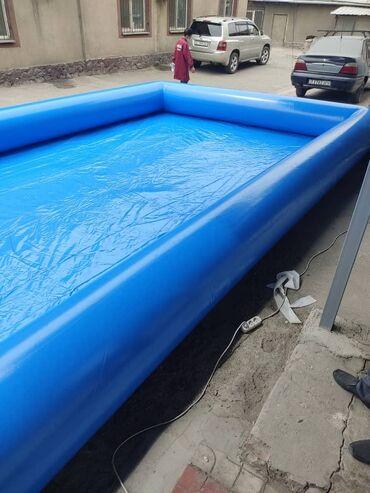 Бассейн надувной с плотного материала. В наличии.Размер бассейна 5 на