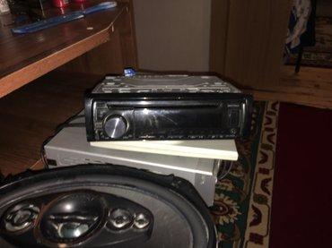 Mingəçevir şəhərində pioner maqintafon original kalonka 600w